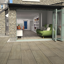 Valverdi Chalet Indoor-Out | Seamless Indoor and Outdoor Paving