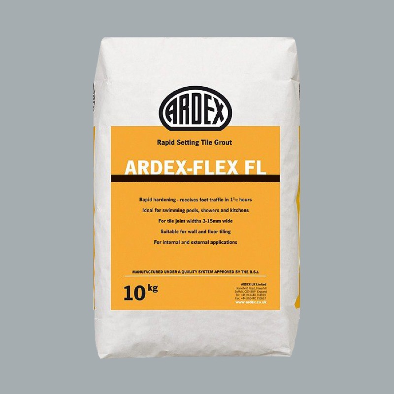 Ardex FL Silver Shimmer Grout 10Kg