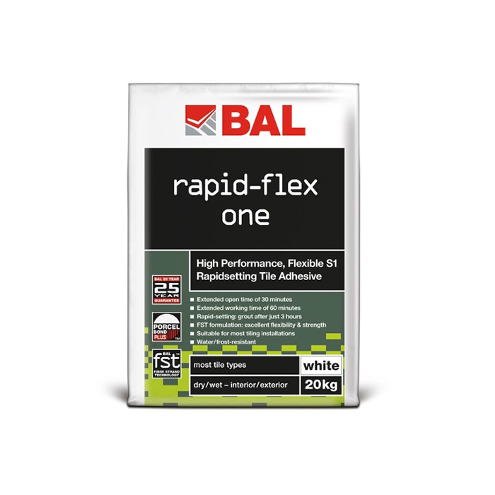 BAL Rapid Flex One White Adhesive