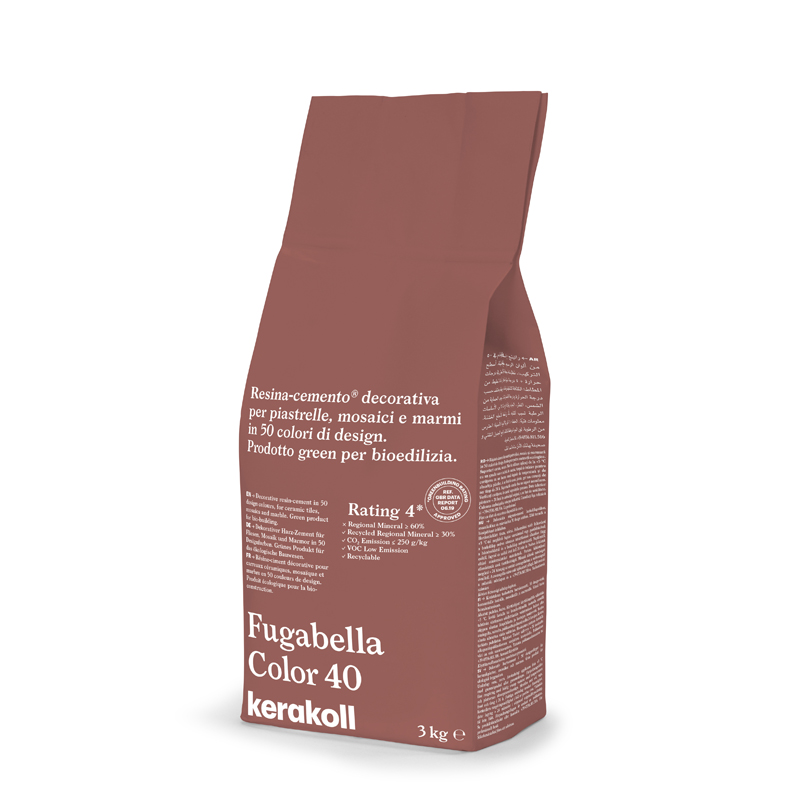 Kerakoll Fugabella Color 3Kg Grout colour 40