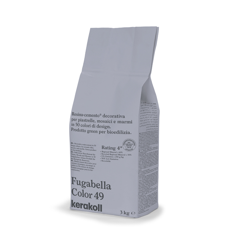 Kerakoll Fugabella Color 3Kg Grout colour 49