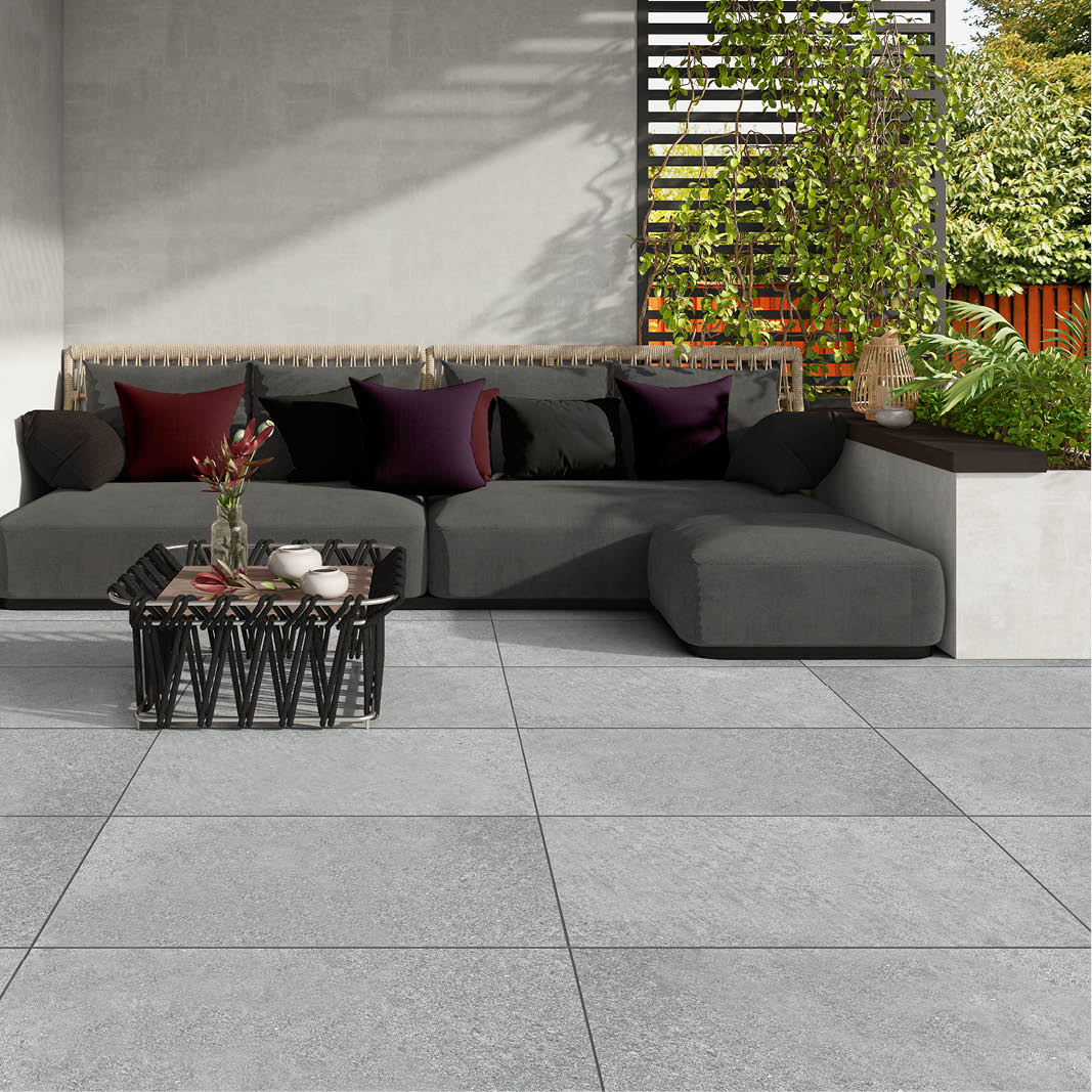 PorcelPave Cathedral Grey