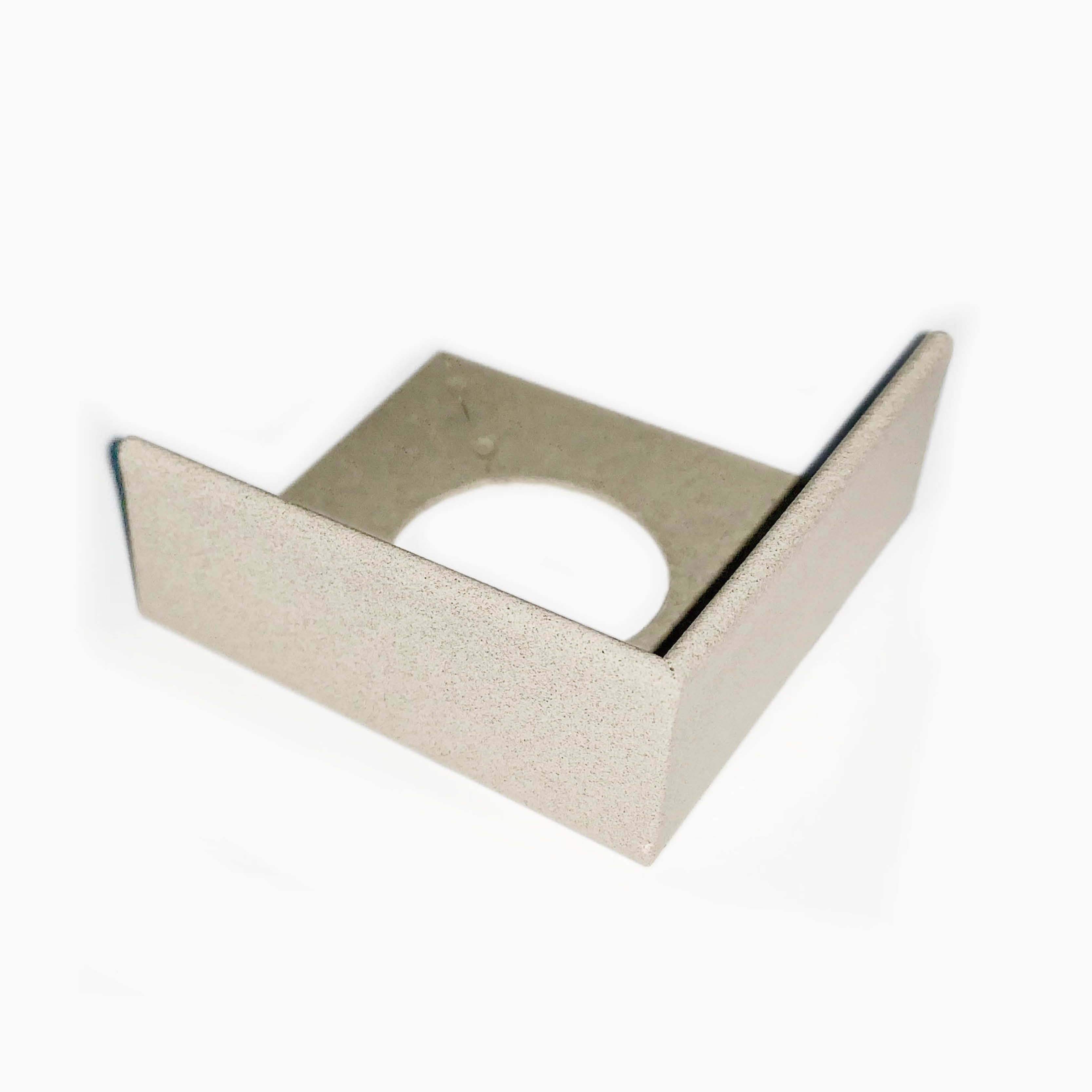 PorcelQuick Straight Edge Stainless Steel Profie Corner Piece - Beige Powder Coated