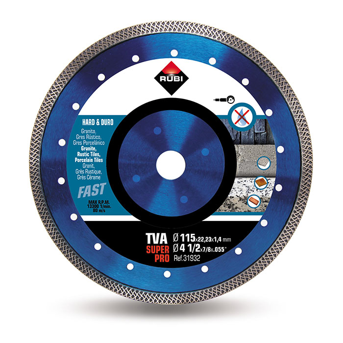 RUBI TURBO VIPER - TVA 115 Diamond Blade