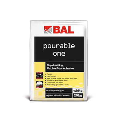 BAL Pourable One White Adhesive