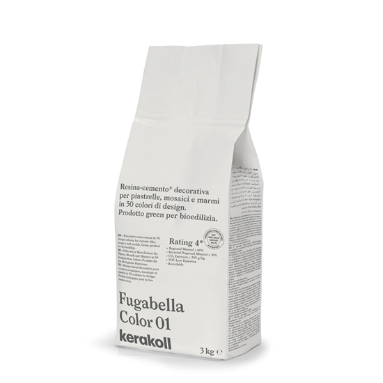 Kerakoll Fugabella Color 3Kg Grout colour 1