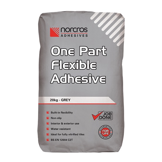 Norcros One Part Flexible Grey 20Kg