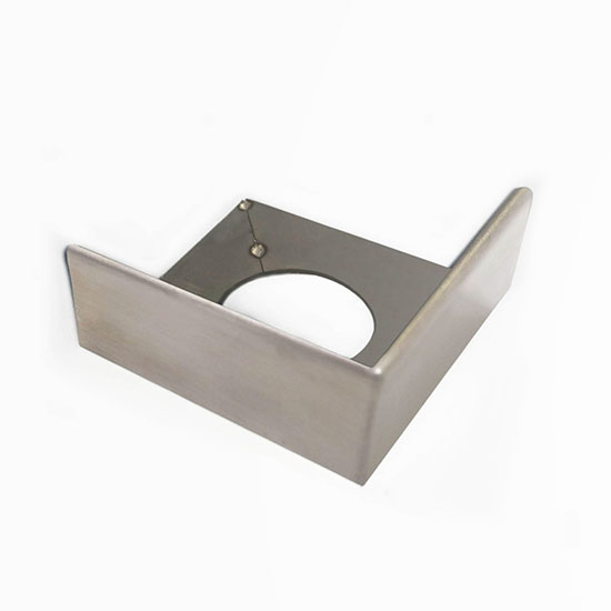 PorcelQuick Stainless Steel Straight Edge Corner Piece